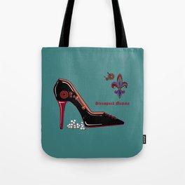 A Steampunk Pump, Stiletto, Steampunk Momma Tote Bag