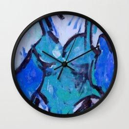 MAILLOT b Wall Clock