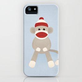 Sock Monkey iPhone Case