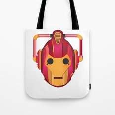 cyber iron man Tote Bag