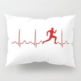RUNNER'S MAN HEARTBEAT Pillow Sham