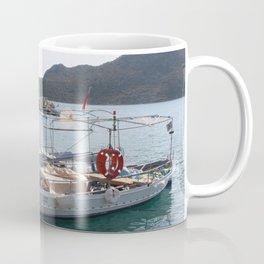 Turkish Fishing Boats Moored at Bozburun Coffee Mug