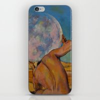 atlas iPhone & iPod Skins featuring Atlas by Michael Creese