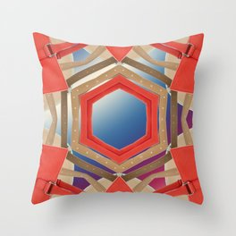Benetton I Throw Pillow
