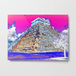 With a taste of Mexico Metal Print