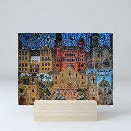 Tiled Mosaic Mini Art Print