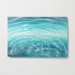 Blue Ocean Dream #1 #water #decor #art #society6 Metal Print