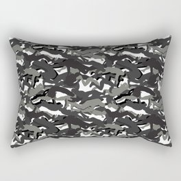 They will never see you cumming - Dark Arctic Rectangular Pillow