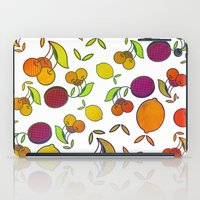 fruits iPad Cases featuring Fruits by VessDSign