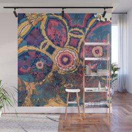 Modern Fractal Abstract 16: Ella Wall Mural