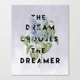 Strange the Dreamer Canvas Print