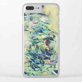CluesBlues Clear iPhone Case