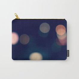 Lights Blue Carry-All Pouch