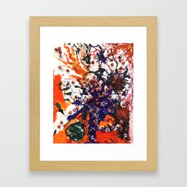 The Fire of Adversity Framed Art Print