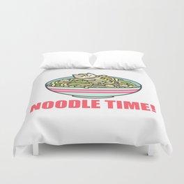 I Love Noodle Kawaii Artwork Duvet Cover