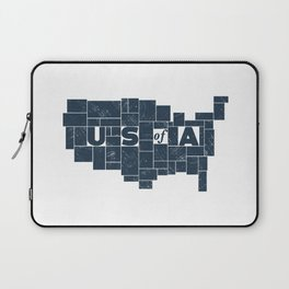 U S of A Laptop Sleeve
