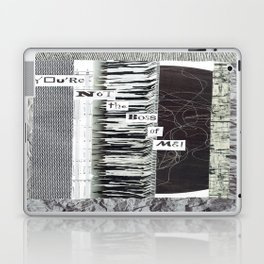 Collage - You're Not the Boss of Me Laptop & iPad Skin