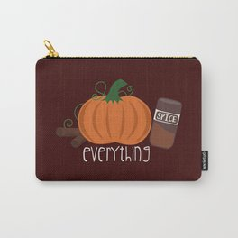 Pumpkin Spice Everything Carry-All Pouch