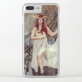 Woodland Fairy 3 Clear iPhone Case