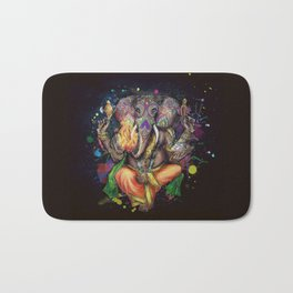 Colorful Ganesh Bath Mat