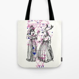 Ladies of the wood Tote Bag
