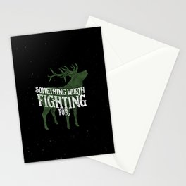 Something Worth Fighting For Stationery Cards