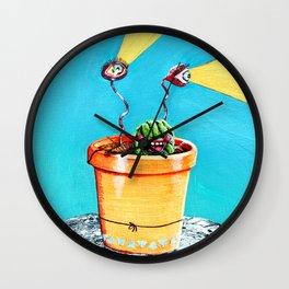 Cact-Eye Wall Clock