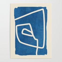 abstract minimal 57 Poster