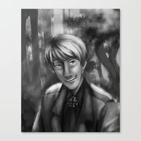 hetalia Canvas Prints featuring Hetalia print 1 by Milkyol