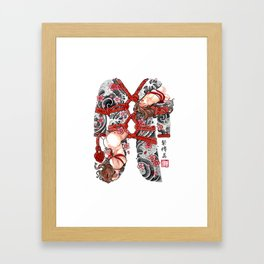 SHIBARI Framed Art Print