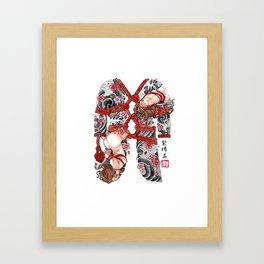 SHIBARI Framed Art Print