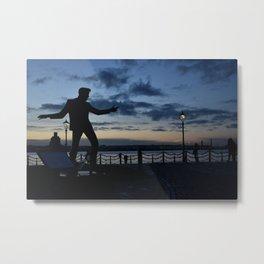Elvis on the docks Metal Print