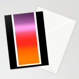 Sunset Gradient Stationery Cards