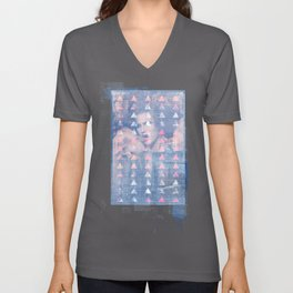 Reproduction Of A Work In Progress Unisex V-Neck