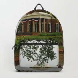 Morning At Monticello - Jeffersons Home Backpack