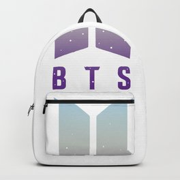 Bangtan Boys Signature Autograph Backpack