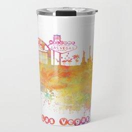 Las Vegas Nevada Skyline  Travel Mug