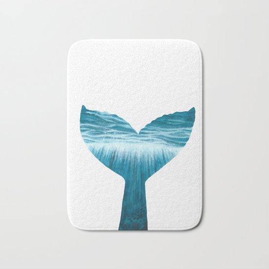 Mermaid tail Bath Mat