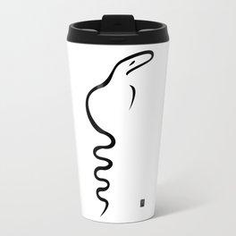 Black Dancing Cobra Travel Mug