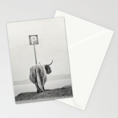 highland visitor Stationery Cards