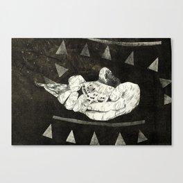 Pierre's Glorious Pigeons Canvas Print