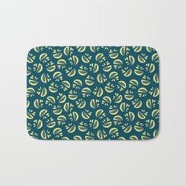 Abstract Lemonade Bath Mat