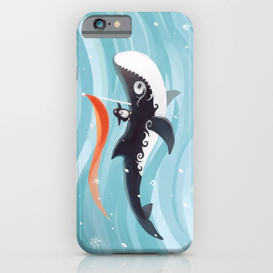Grandpa Orca iPhone & iPod Case