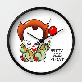 Pennywise From The Movie IT Wall Clock