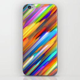 Colorful digital art splashing G391 iPhone Skin
