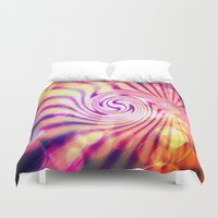candy Duvet Covers featuring Candy  by CLE.ArT.