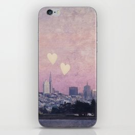 Where We Left Our Hearts iPhone Skin