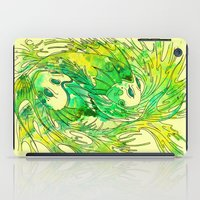 pisces iPad Cases featuring pisces by Steven Toang