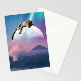 Jaguar watching over us  Stationery Cards