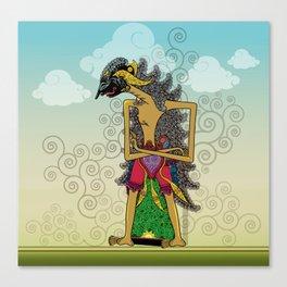 Wayang Arjuna Canvas Print